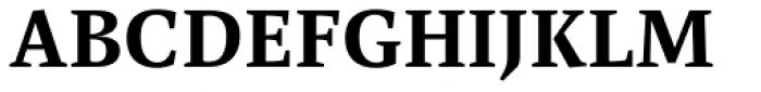 FF Spinoza Pro Medium Font UPPERCASE