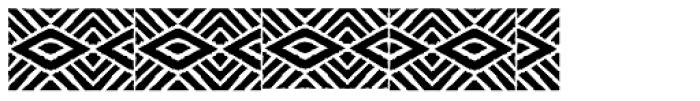 FF Stoned Mosaic Three Font LOWERCASE