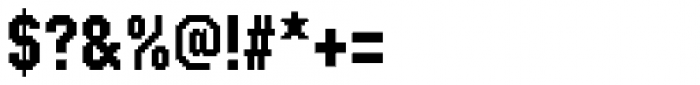 FF SubVario Std Condensed Medium Font OTHER CHARS
