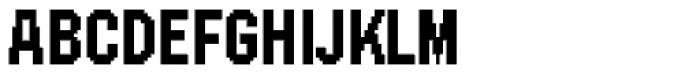 FF SubVario Std Condensed Medium Font UPPERCASE