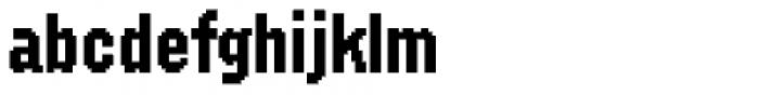 FF SubVario Std Condensed Medium Font LOWERCASE
