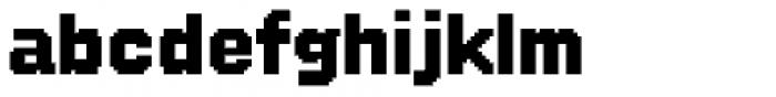 FF SubVario Std Fat Font LOWERCASE