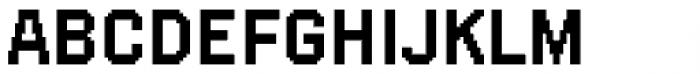 FF SubVario Std Medium Font UPPERCASE