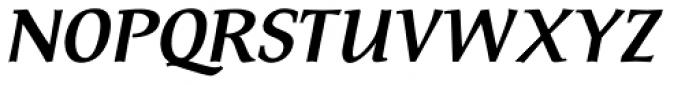 FF Tarquinius Pro Bold Italic Font UPPERCASE