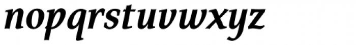 FF Tarquinius Pro Bold Italic Font LOWERCASE