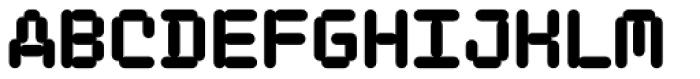 FF ThreeSix 01 Mono OT 144 Black Font UPPERCASE