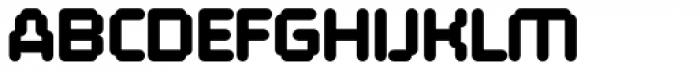 FF ThreeSix 10 Pro 144 Black Font UPPERCASE
