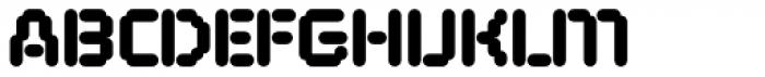 FF ThreeSix 11 Pro 144 Black Font UPPERCASE