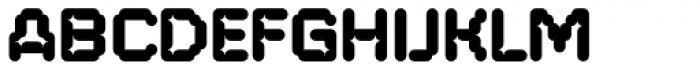 FF ThreeSix 20 OT 144 Black Font UPPERCASE