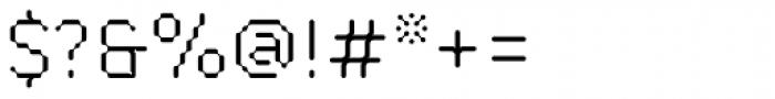 FF ThreeSix 21 OT 054 Light Font OTHER CHARS