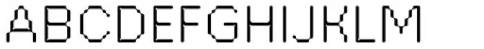 FF ThreeSix 21 OT 054 Light Font UPPERCASE