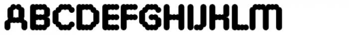 FF ThreeSix 30 Pro 144 Black Font UPPERCASE