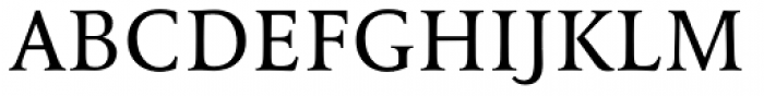 FF Tibere OT Font UPPERCASE