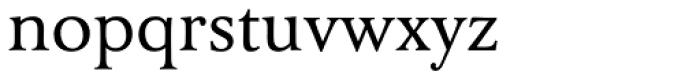 FF Tibere OT Font LOWERCASE