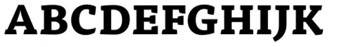 FF Tisa OT ExtraBold Font UPPERCASE