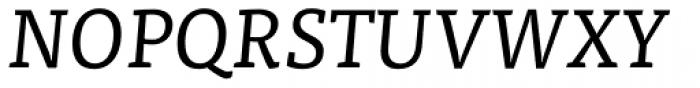FF Tisa OT Italic Font UPPERCASE