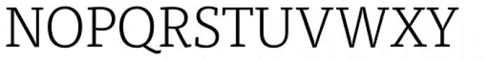 FF Tisa OT Light Font UPPERCASE