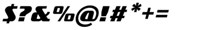 FF TradeMarker OT Bold Italic Font OTHER CHARS