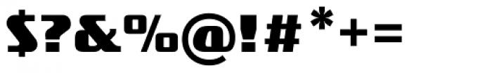 FF TradeMarker OT Bold Font OTHER CHARS