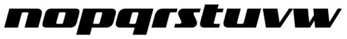 FF TradeMarker OT Fat Italic Font LOWERCASE