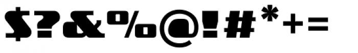 FF TradeMarker OT Fat Font OTHER CHARS