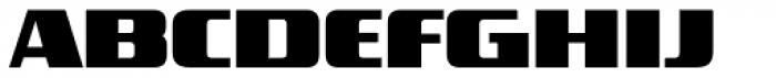 FF TradeMarker OT Fat Font UPPERCASE