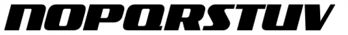 FF TradeMarker Pro Fat Italic Font UPPERCASE