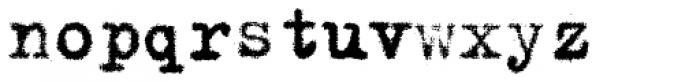 FF Trixie HD OT Heavy Font LOWERCASE