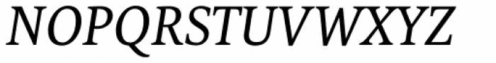FF Tundra OT Italic Font UPPERCASE