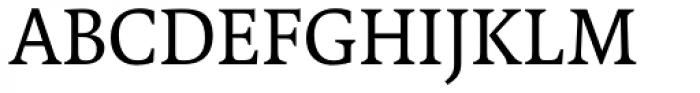 FF Tundra OT Regular Font UPPERCASE