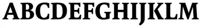 FF Tundra Pro Bold Font UPPERCASE
