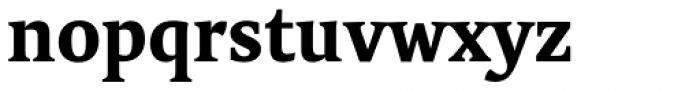 FF Tundra Pro Bold Font LOWERCASE