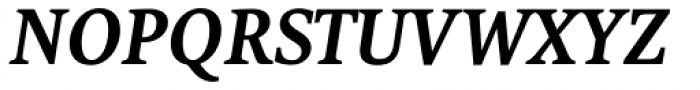 FF Tundra Std Demi Bold Italic Font UPPERCASE