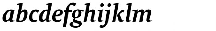 FF Tundra Std Demi Bold Italic Font LOWERCASE