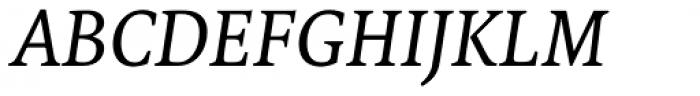 FF Tundra Std Regular Italic Font UPPERCASE