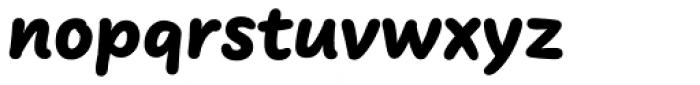 FF Uberhand Pro Black Font LOWERCASE