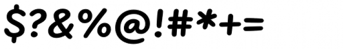 FF Uberhand Pro Extrabold Font OTHER CHARS