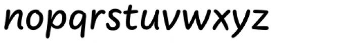 FF Uberhand Pro Medium Font LOWERCASE