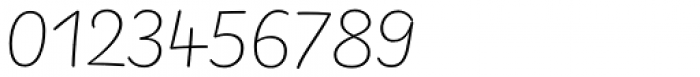 FF Uberhand Pro Ultralight Font OTHER CHARS