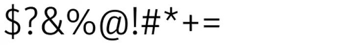 FF Unit OT Light Font OTHER CHARS