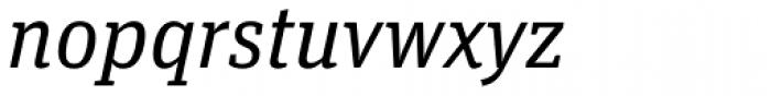 FF Unit Slab OT Italic Font LOWERCASE