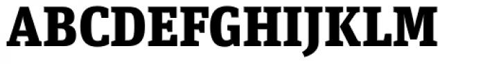 FF Unit Slab Pro Black Font UPPERCASE
