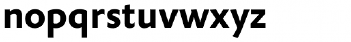 FF Yoga Sans OT Bold Font LOWERCASE