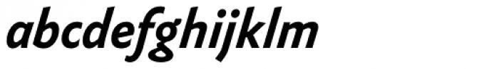 FF Yoga Sans Pro Bold Italic Font LOWERCASE