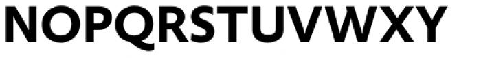 FF Yoga Sans Pro Bold Font UPPERCASE