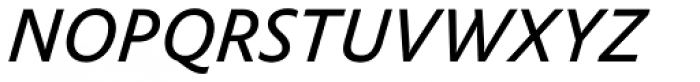 FF Yoga Sans Pro Italic Font UPPERCASE