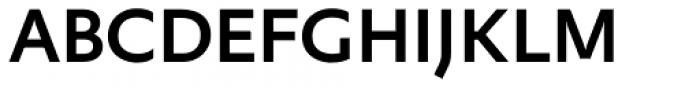FF Yoga Sans Pro Medium Font UPPERCASE