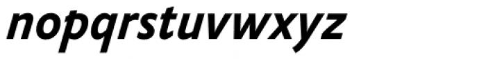 FF Yoga Sans Std Bold Italic Font LOWERCASE