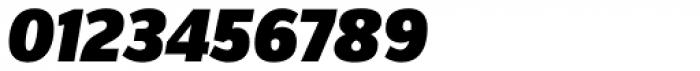 FF Zine Sans Display Pro Black Italic Font OTHER CHARS
