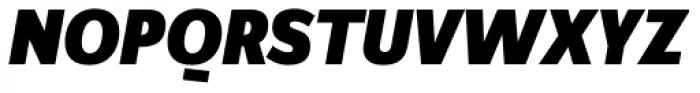 FF Zine Sans Display Pro Black Italic Font UPPERCASE